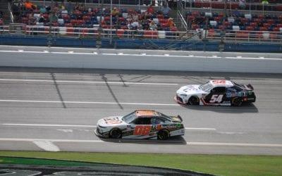 Brett Moffitt and Natalie Decker Battle Through the Field at Talladega! Post Race Update