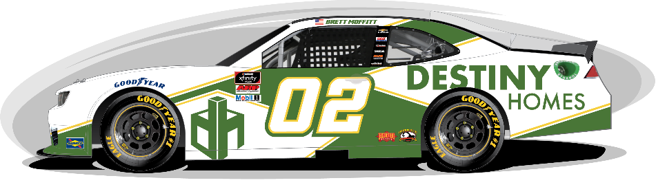 Destiny Homes Announces Multi-Race Sponsorship with Brett Moffitt and Our Motorsports