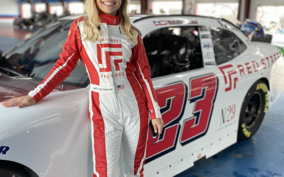 Natalie Decker will have sponsorship from Red Street Records this weekend in Nashville