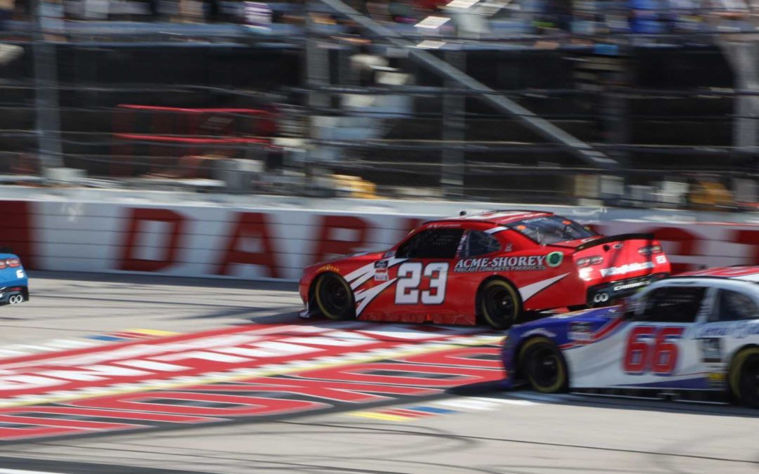 Our Motorsports had a solid showing at Darlington Raceway in the Sport Clips 200.
